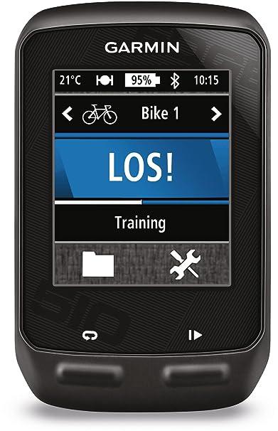Garmin Edge 510 avec ceinture cardio et capteur de cadence - Compteur GPS tactile connecté pour vélo