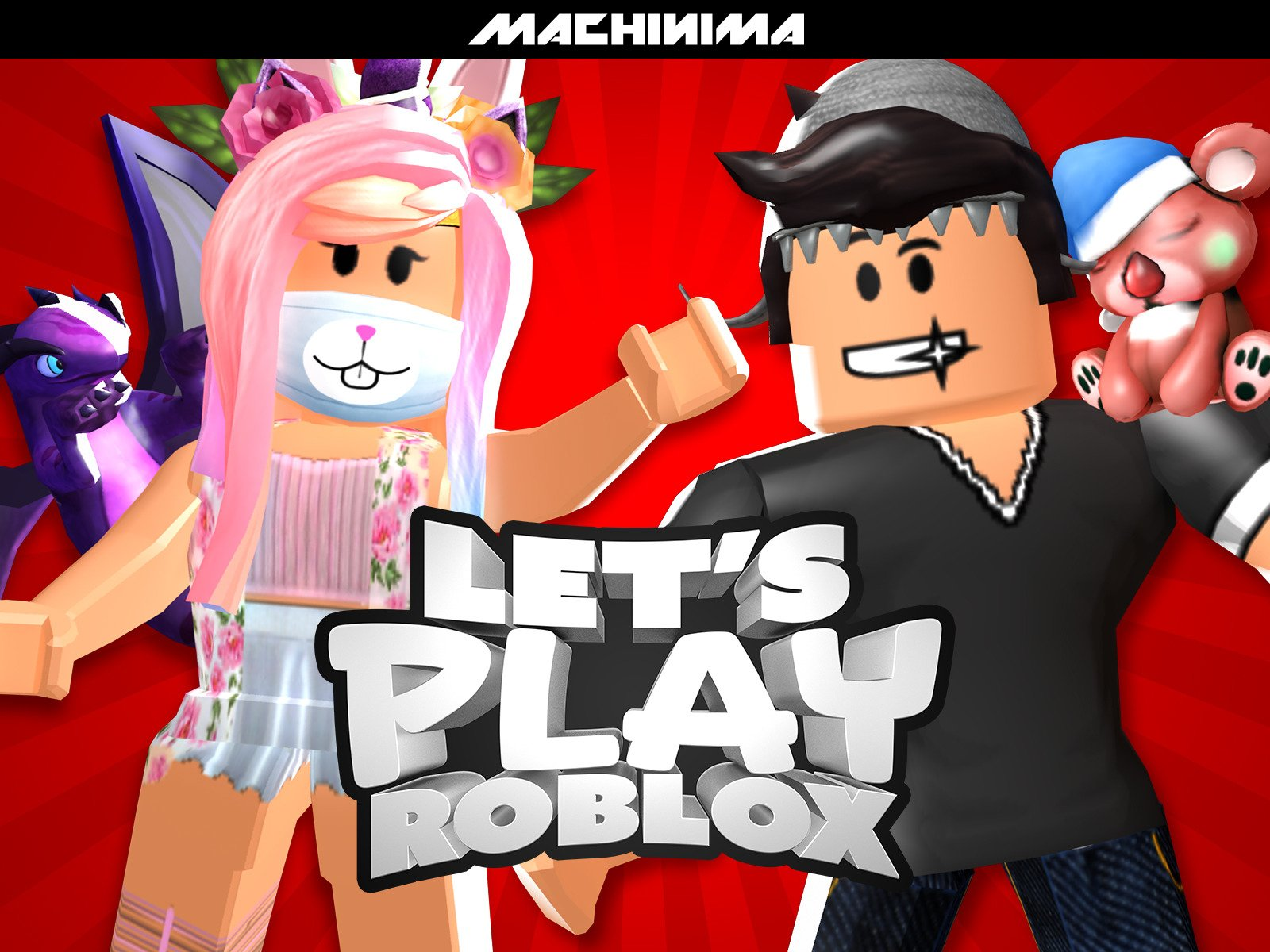 Clip: Let's Play Roblox - Season 6