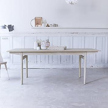 Beka Solid Oak Dining Table 200x90