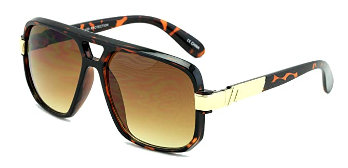 Square Frame Sunglasses by Vision World Eyewear