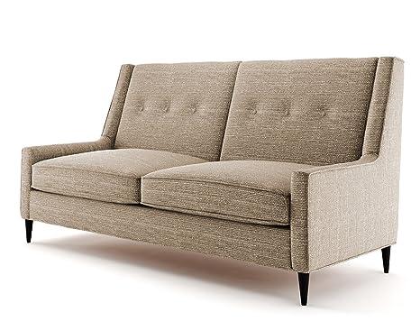 Ives 2 Sitzer Sofa hellbraun, Couch , Jugendsofa, couchgarnituren, lounge möbel