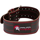 X- Large Wright Lifting Belt Wright Lifting Belt Weight Back Belt Weight Iron Weight Support Belt Weiggt Belt Lifting Leather Belt Weight Belt Women Belts Lifting Weights Belt with Multiple Holes (Color: Red/Black, Tamaño: X-LARGE 41