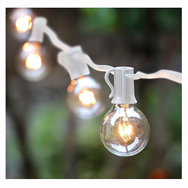 25ft g40 globe string light set ul listed outdoor market lights for 25ft g40 globe string light set ul listed outdoor market lights for indoor outdoor commercial decor aloadofball Image collections