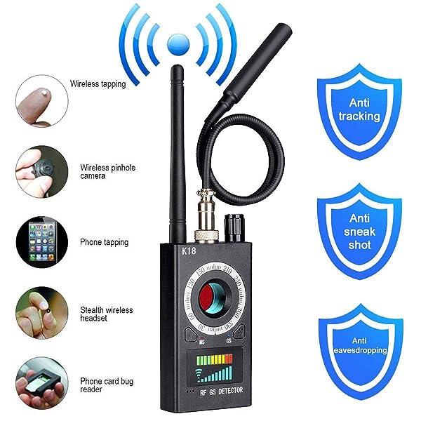 Anti Spy Detector, RF Detector & Camera Finder, Bug Detector