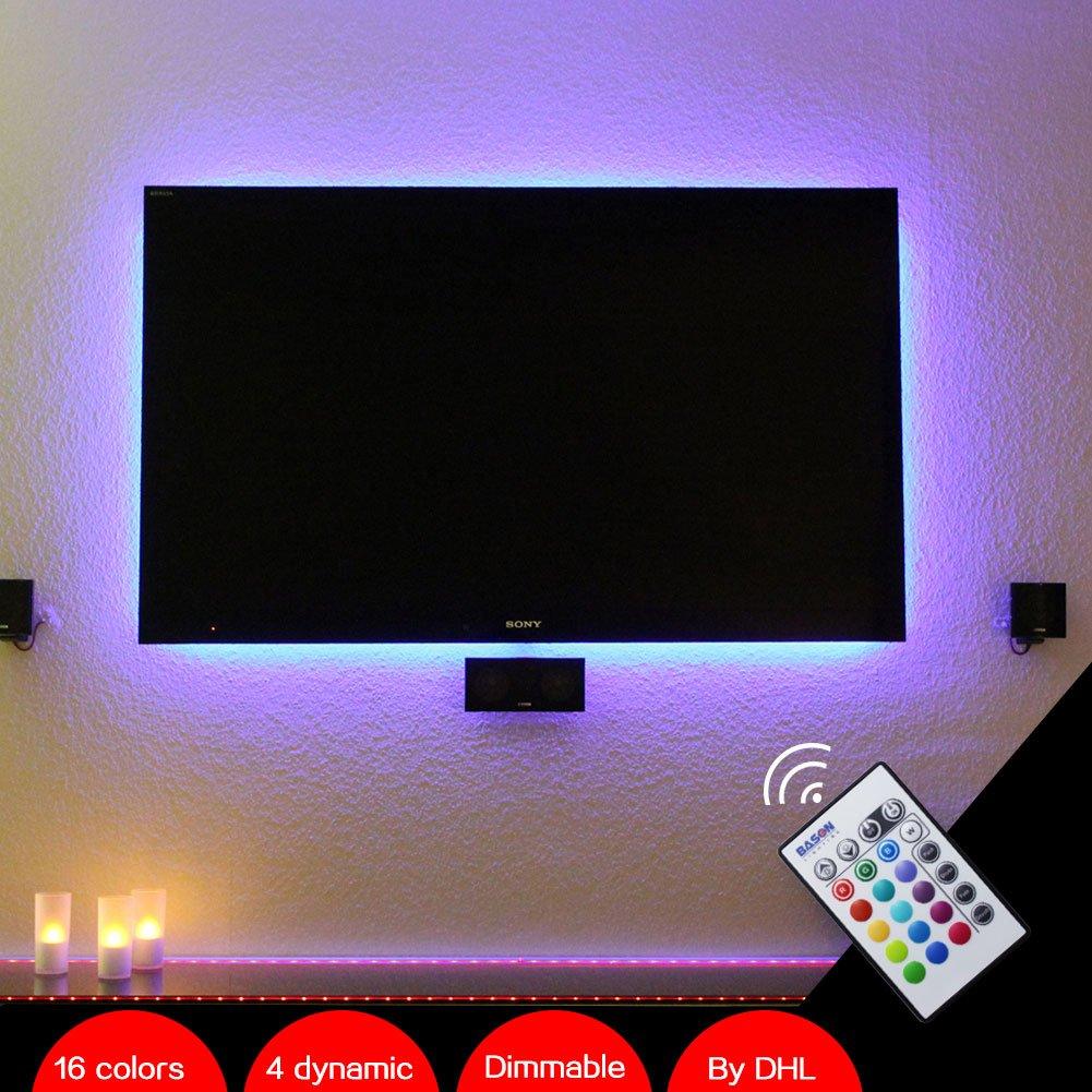 BASON USB Powered Led Strip Light TV Backlighting Home Theater