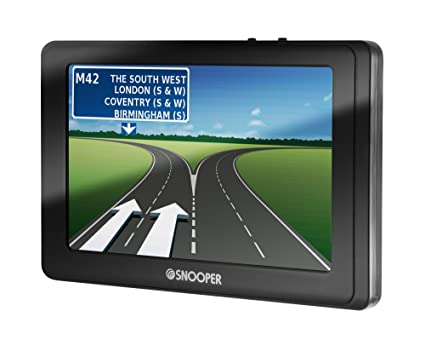 Snooper SC5800DVR GPS Bluetooth Noir