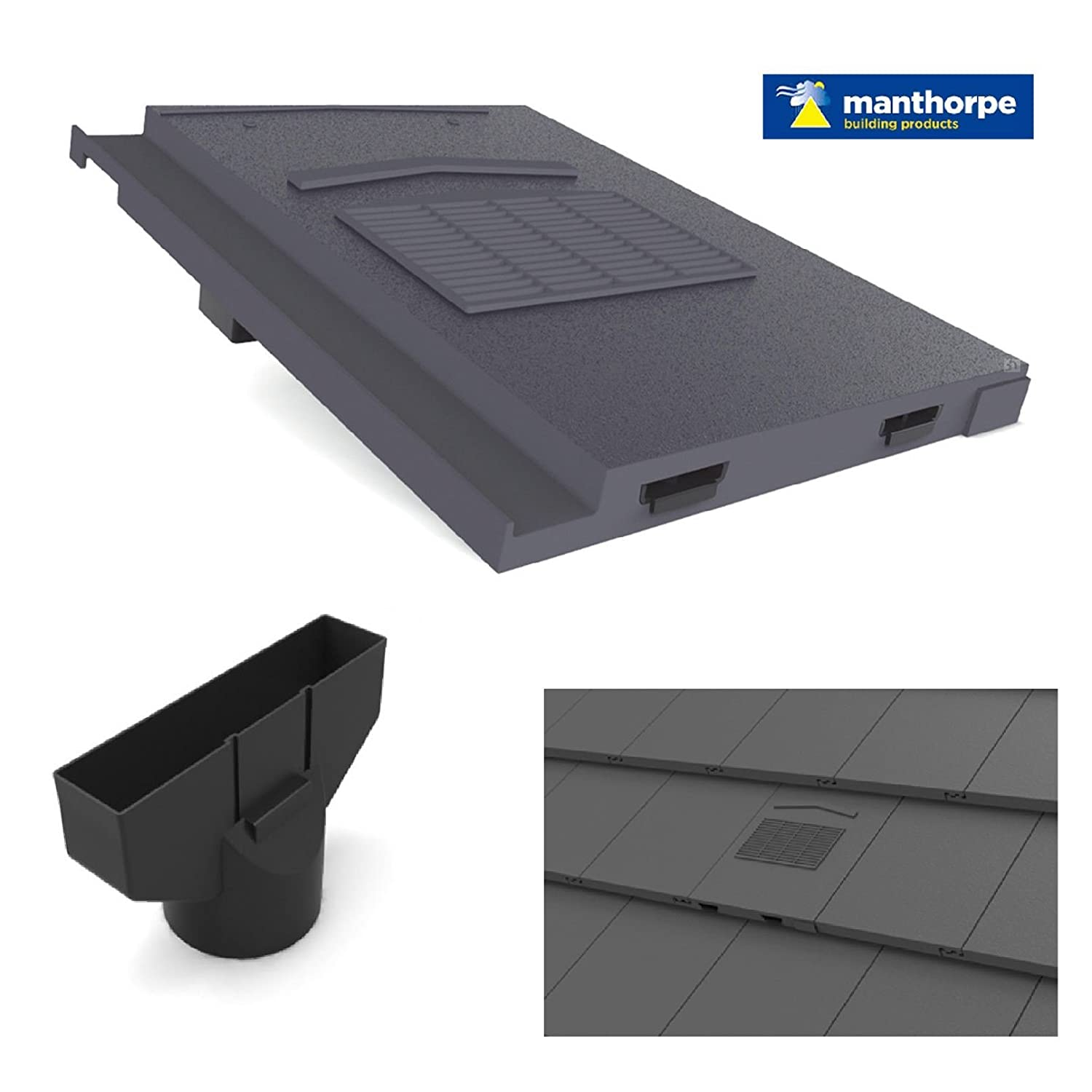 Roof Tile Extractor Vent Profile Roof Vent Tile
