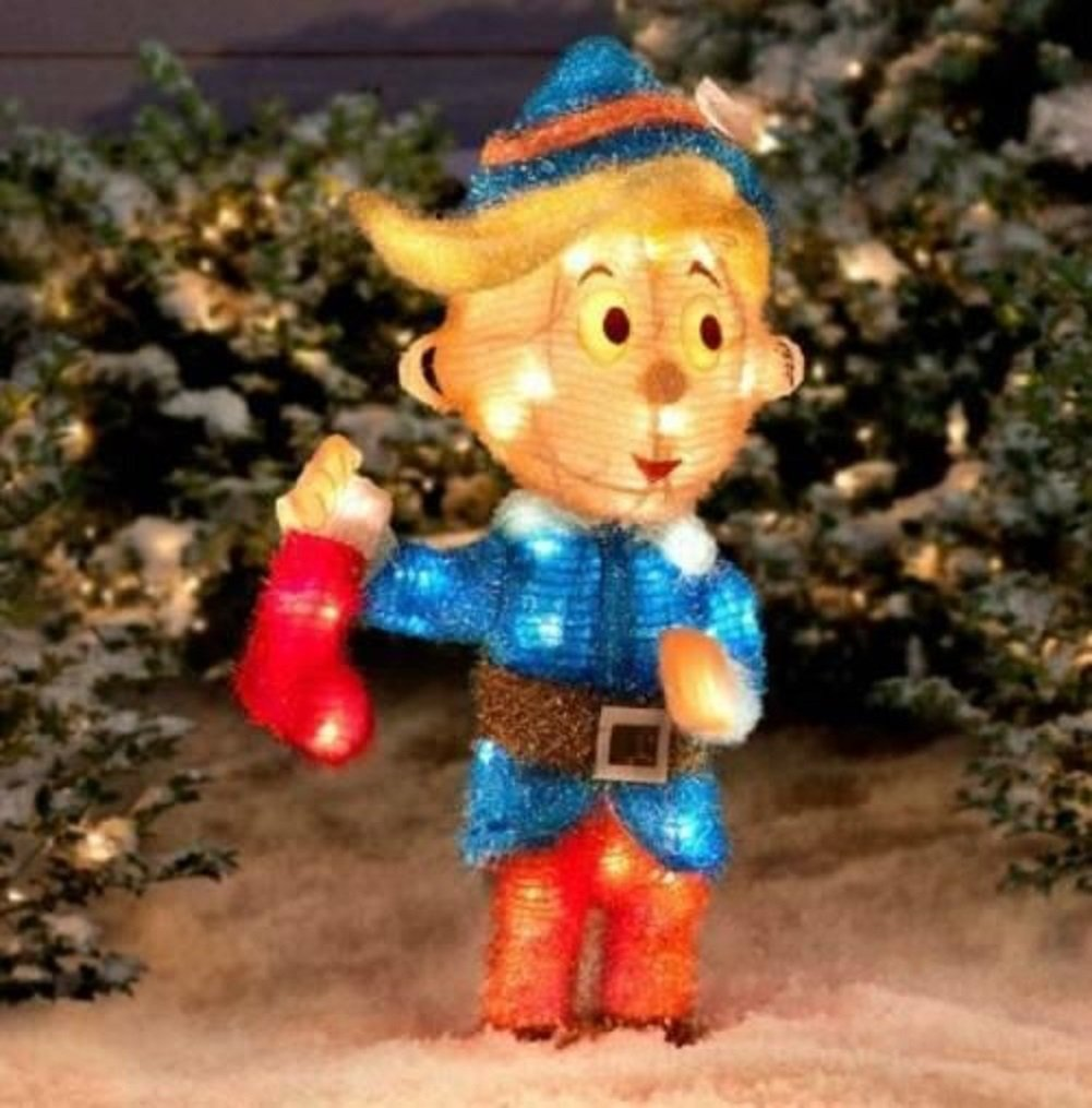 Rudolph Bumble Outdoor Christmas Decorations : Rudolf the rednosed reindeer outdoor yard displays