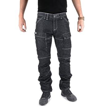 Overlap OVP-STURGIS-ASPHALT38 Jeans de Moto Sturgis Asphalt Gris Taille 38