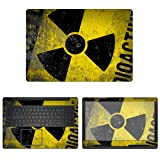 decalrus - Protective Decal Hazmat Skin Sticker for Dell G3 3579 (15.6
