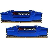 G.Skill Ripjaws V Series 16GB (2 x 8GB) 288-Pin SDRAM DDR4 2666 (PC4 21300) Memory F4-2666C15D-16GVB