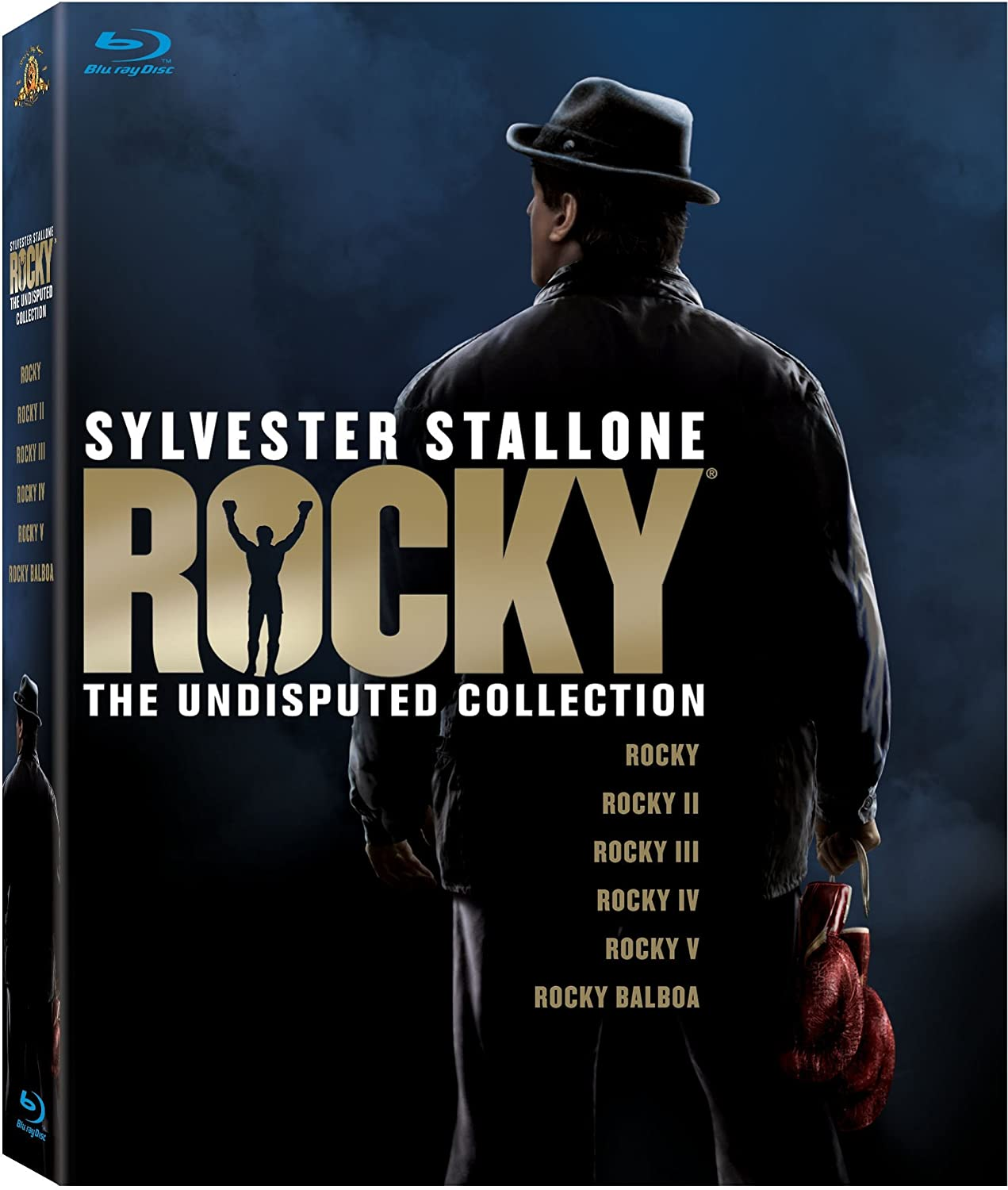 Rocky: The Undisputed Collection (Rocky I-V / Rocky Balboa) [Blu-ray] $19.49