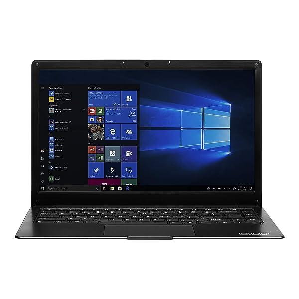 EVOO 14.1 Ultra Thin Laptop FHD, 32GB Storage, 4GB Memory, Micro HDMI, Front Camera, Windows 10 Home