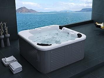 Jacuzzi d 39 ext rieur spa 6 places acrylique haute qualit - Tarif jacuzzi exterieur ...