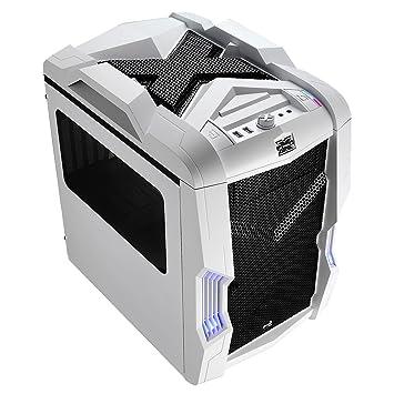 Aerocool Strike-X Cube Boîtier PC Blanc/Noir