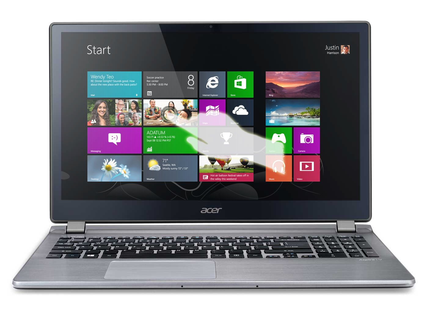 Acer Aspire V7-582PG-6479 15.6-Inch Touchscreen Ultrabook