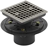 Kohler K-9136-BN Square Design Tile-In Shower Drain Finish: Vibrant Brushed Nickel