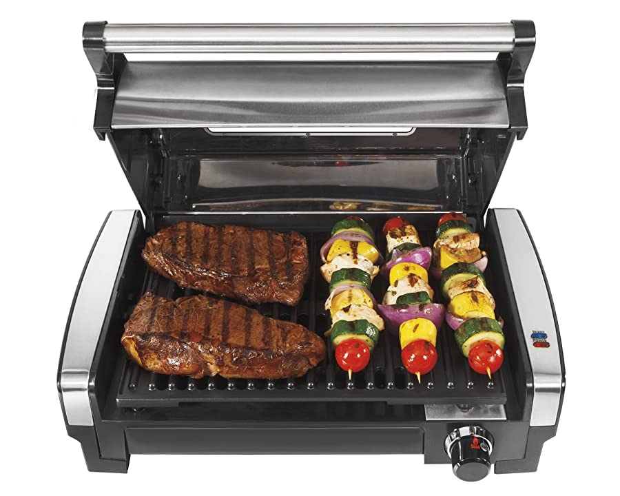 Hamilton Beach 25361 Indoor Grill Via Amazon