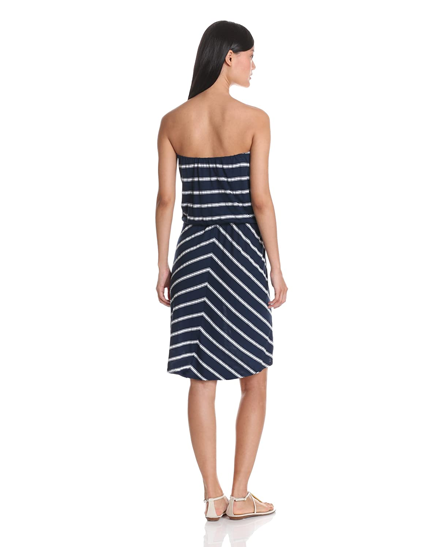 Hampton Stripe Strapless Dress