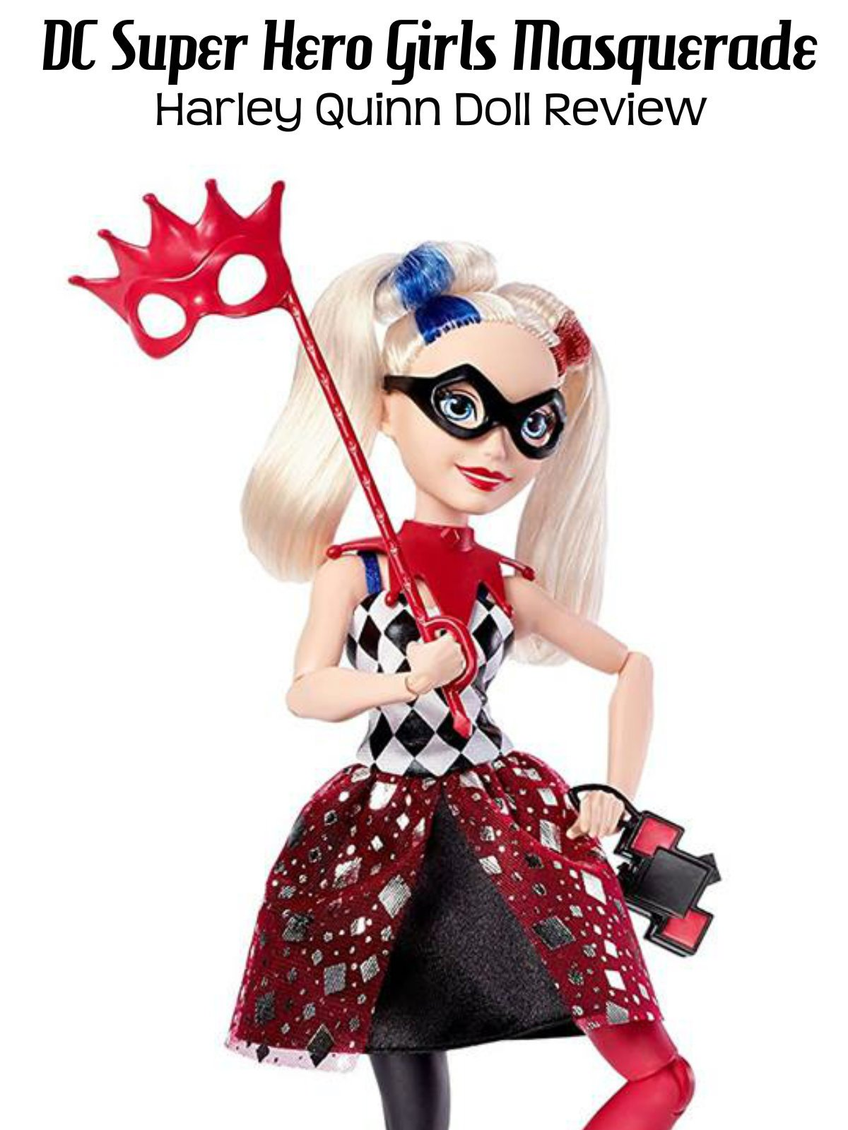Review: DC Super Hero Girls Masquerade Harley Quinn Doll Review