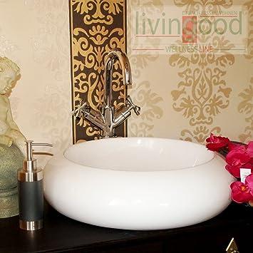 keramik design waschbecken waschschale waschtisch aufsatz conchita dee310. Black Bedroom Furniture Sets. Home Design Ideas