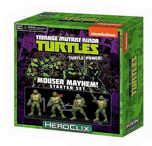 Teenage Mutant Ninja Turtles HeroClix: Mouser Mayhem Starter Set by WizKids