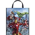 """Unique Large Plastic Avengers Favor Bag, 13"""" x 11"""""""