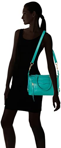 Rebecca Minkoff MAB Mini Satchel 瑞贝卡明可弗 女士单肩包(限绿色款)-奢品汇 | 海淘手表 | 腕表资讯