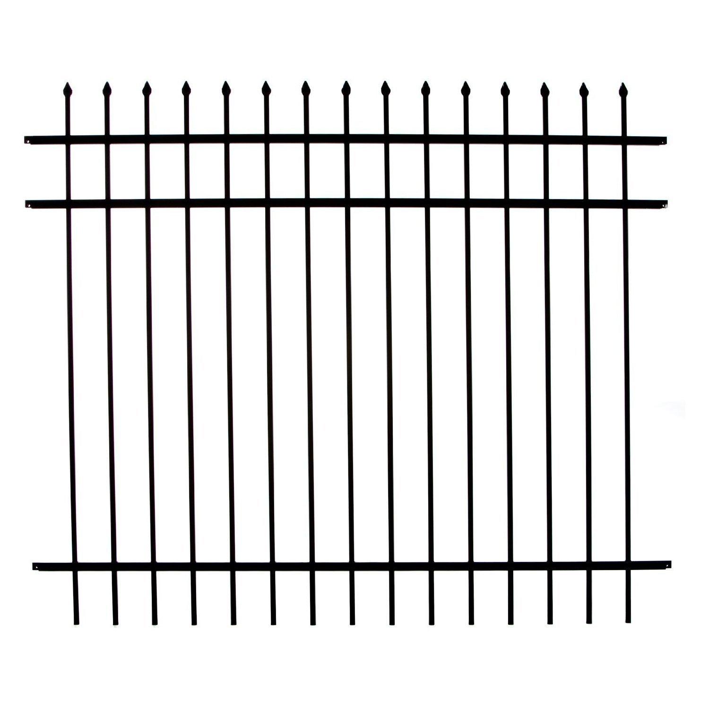 3-Rail Fence Panel