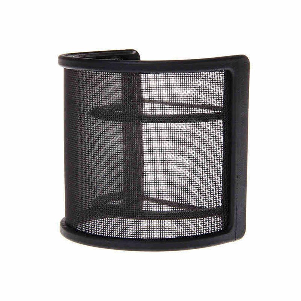 Pusheng Dual Layer Recording Studio Microphone Mic Windscreen Pop Filter Mask Shield