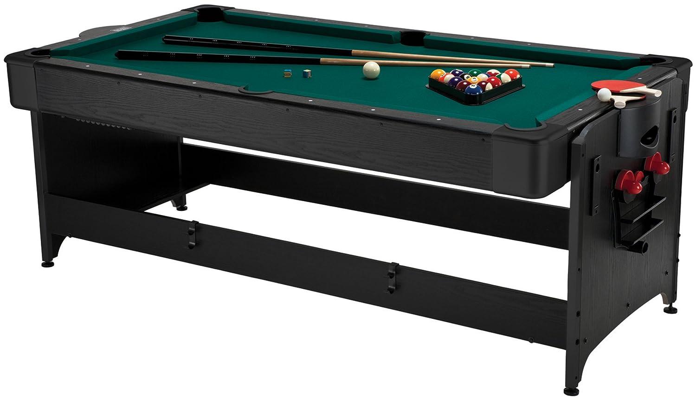 Pool Table Air Hockey Ping Pong Combo 自宅でビリヤードとエアホッケーが楽しめる ...
