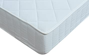 European/IKEA King Size Reflex Foam Mattress (Orthopaedic, Open Coil Springs) with REGULAR Comfort - Total Thickness 24 cm