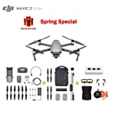 Mavic 2 Zoom Drone Quadcopter with Fly More Kit, Photographer Bundle, with Filter Set, Landing Pad and Landing Gear (Color: Mavic zoom fly more, Tamaño: 3 x Battery)
