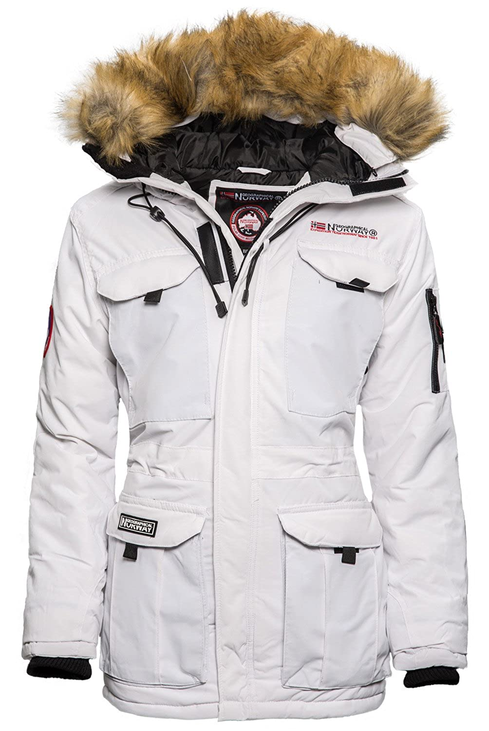 Geographical Norway Alcatras Damen Winter Jacke Parka Outdoor Funktions Mantel jetzt kaufen