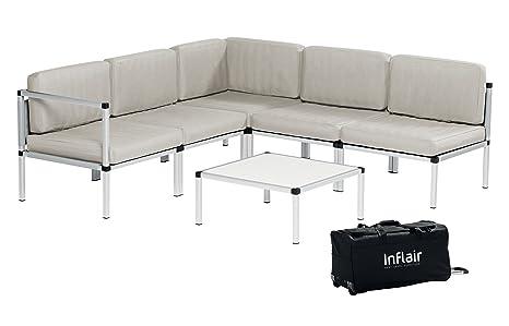 Inflair Lounge Set Superior Lounge Gruppe Sofa-Set Gartenmöbel Campingmöbel