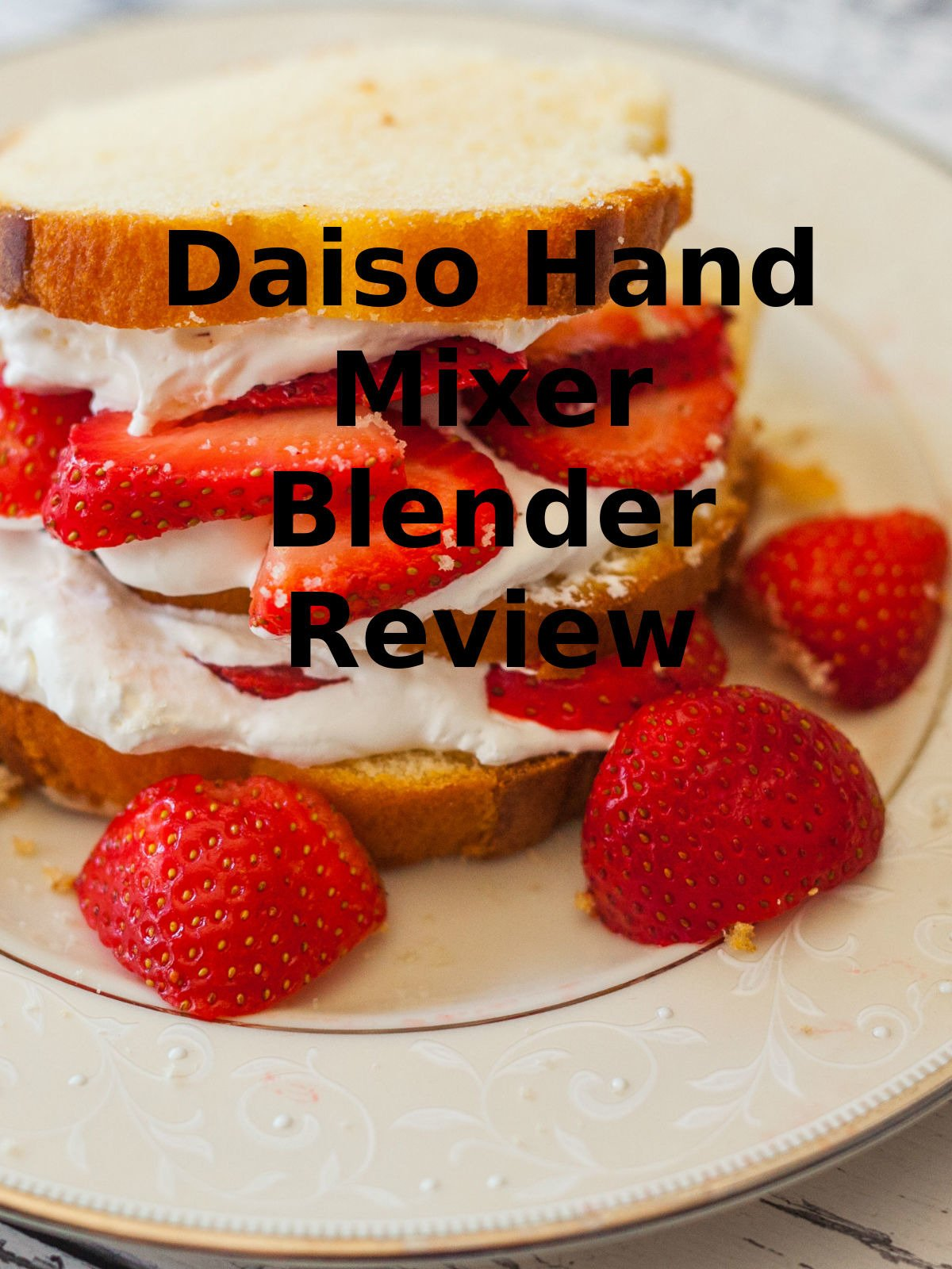 Review: Daiso Hand Mixer Blender Review