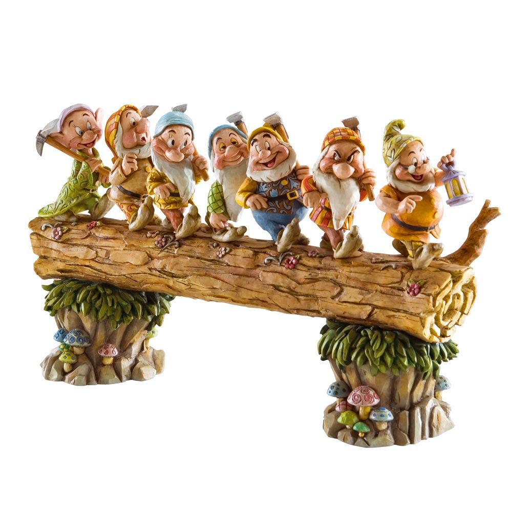 Disney Traditions Seven Dwarfs Homeward Bound Figurine       review and more information