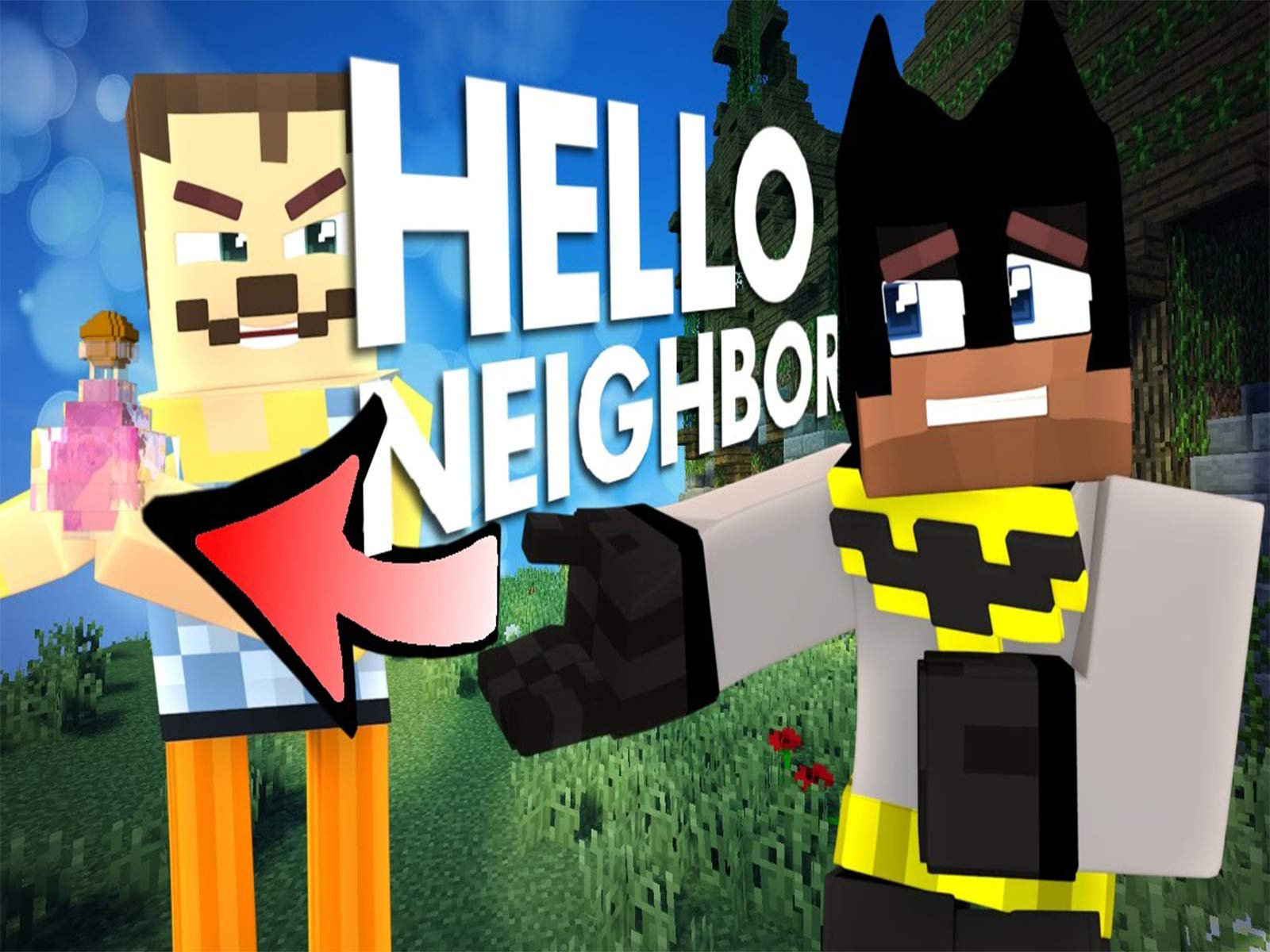 Clip: Mitch - Minecraft Hello Neighbor