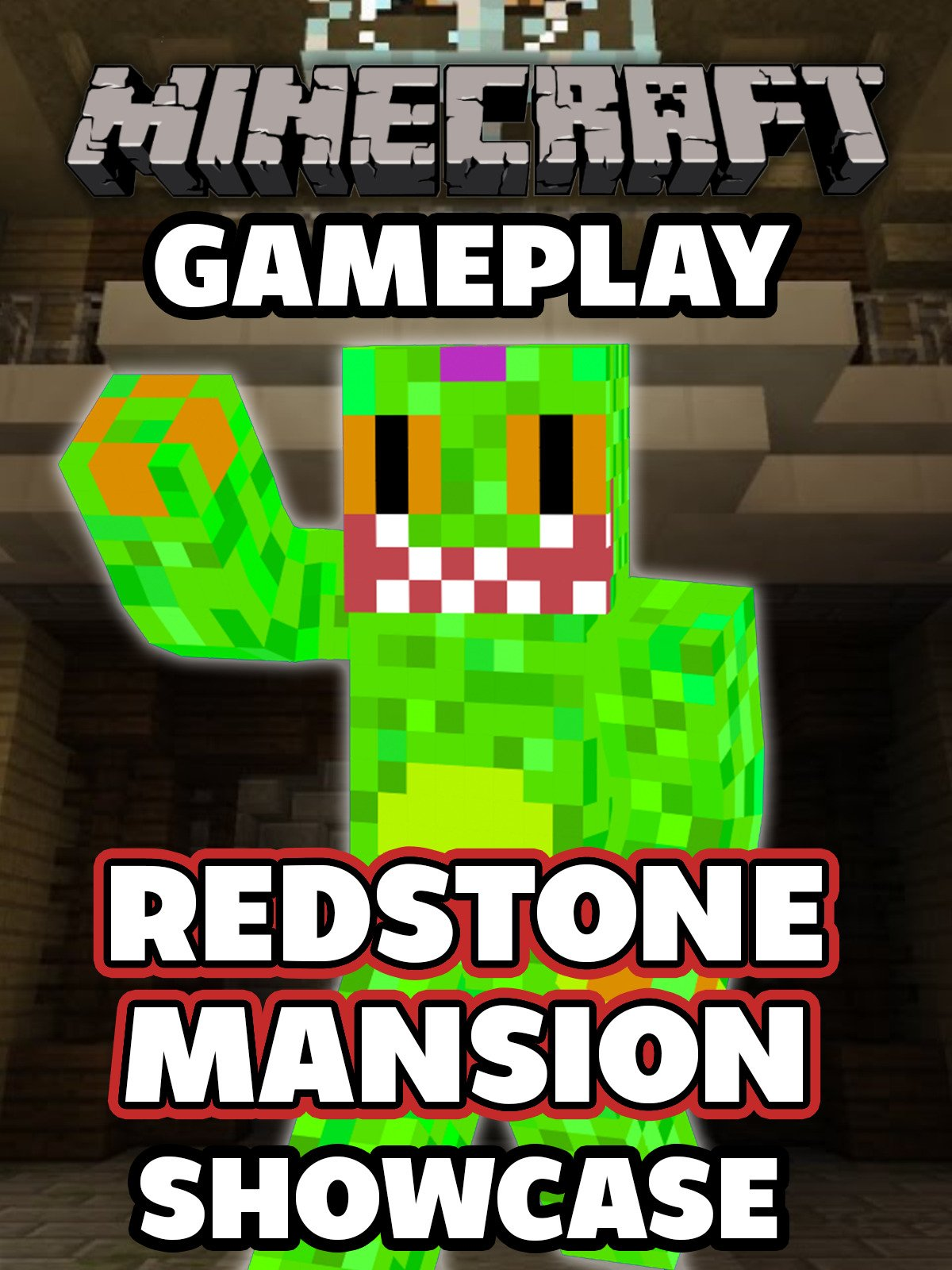 Clip: Minecraft Gameplay - Redstone Mansion Showcase