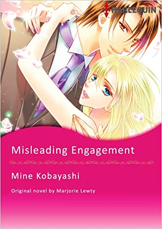 MISLEADING ENGAGEMENT (Harlequin comics) written by Marjorie Lewty