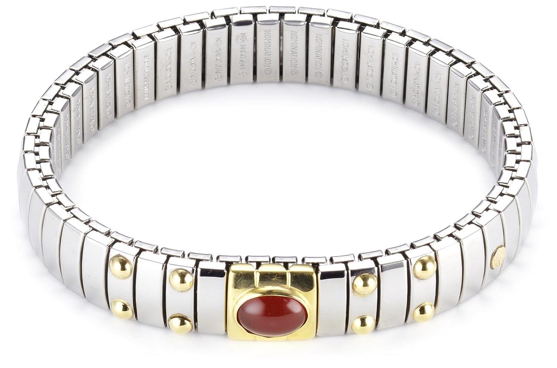Nomination Damen-Armband Mittel Achat Rot 042170/004