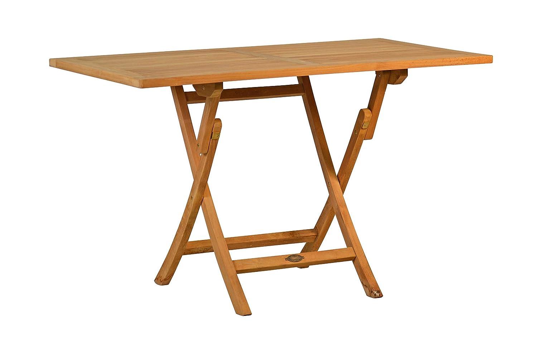 """Teak Klapptisch """"Fano"""" 120 x 70 cm rechteckig, Gartenmöbel, Teaktisch, klappbar, zusammenklappbar jetzt kaufen"""
