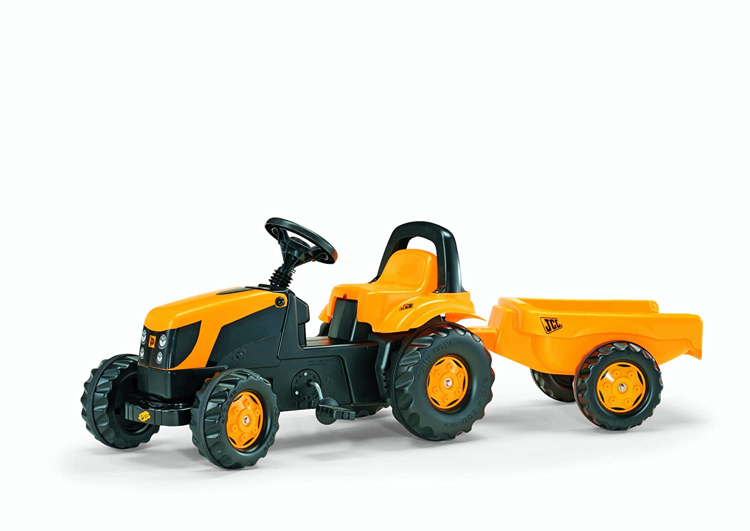 Rolly JCB Kid-X Tractor, Yellow