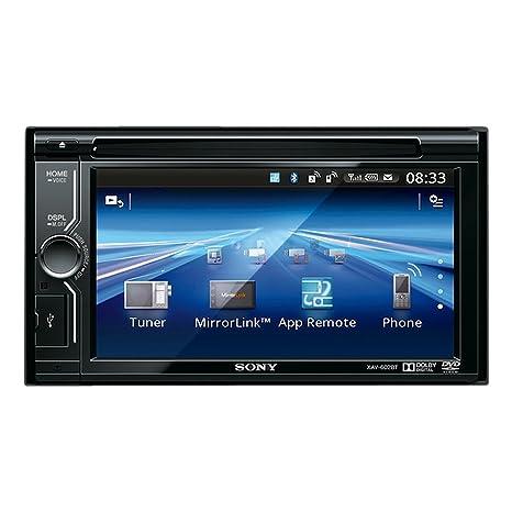 Sony XAV602BT Autoradio CD/DVD Noir