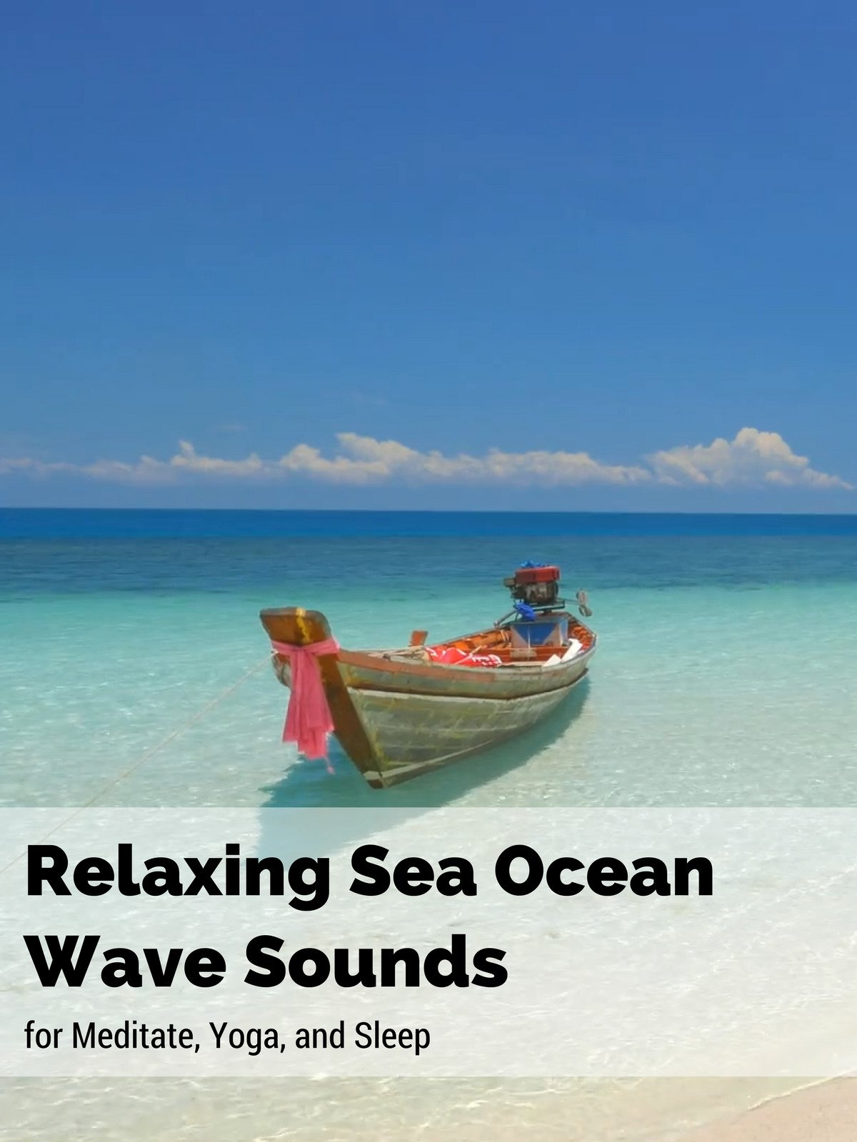 Relaxing Sea Ocean Wave Sounds for Meditate, Yoga, and Sleep on Amazon Prime Instant Video UK