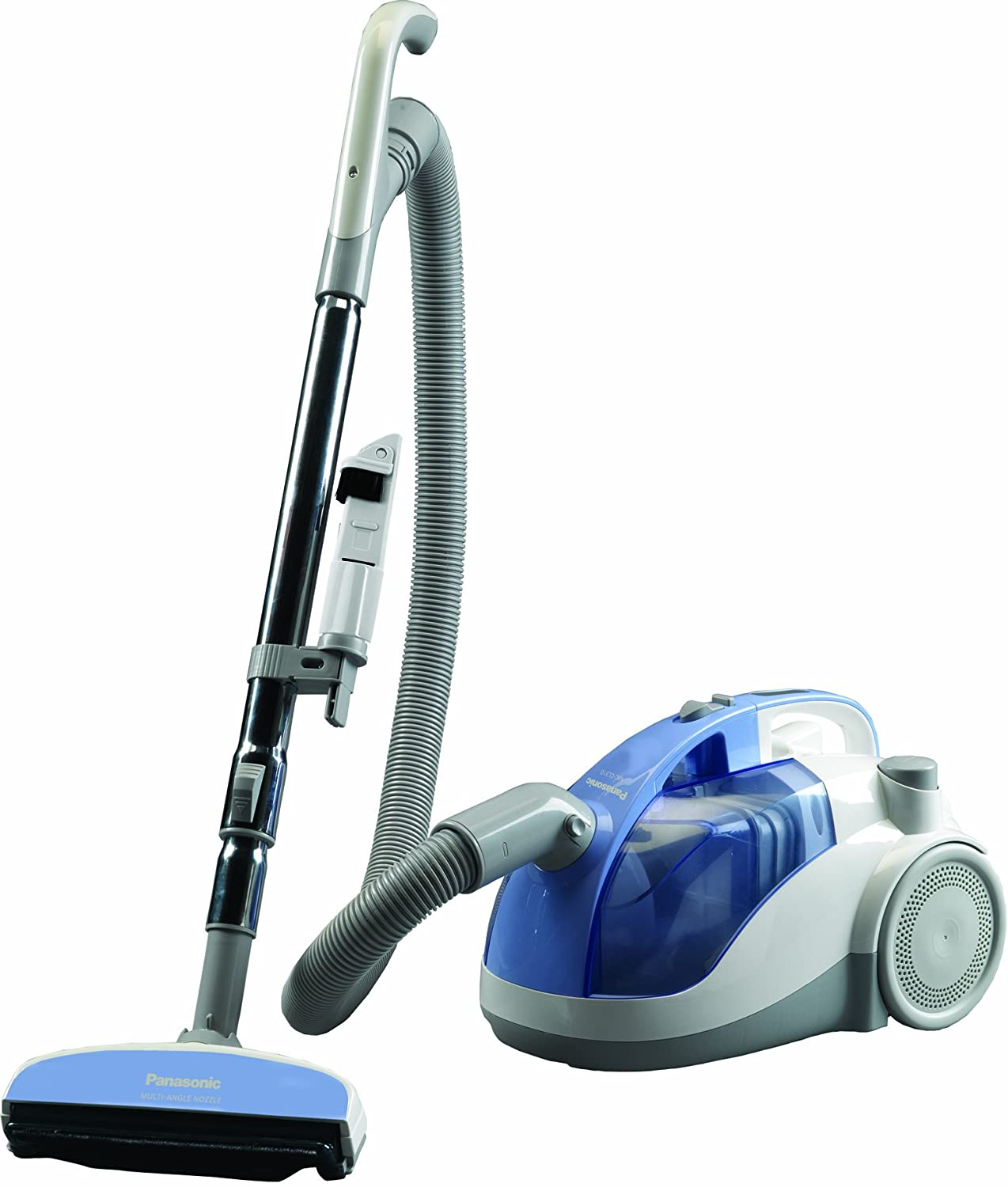 Bagless Canister Vacuum Reviews Opticlean Cyclonic
