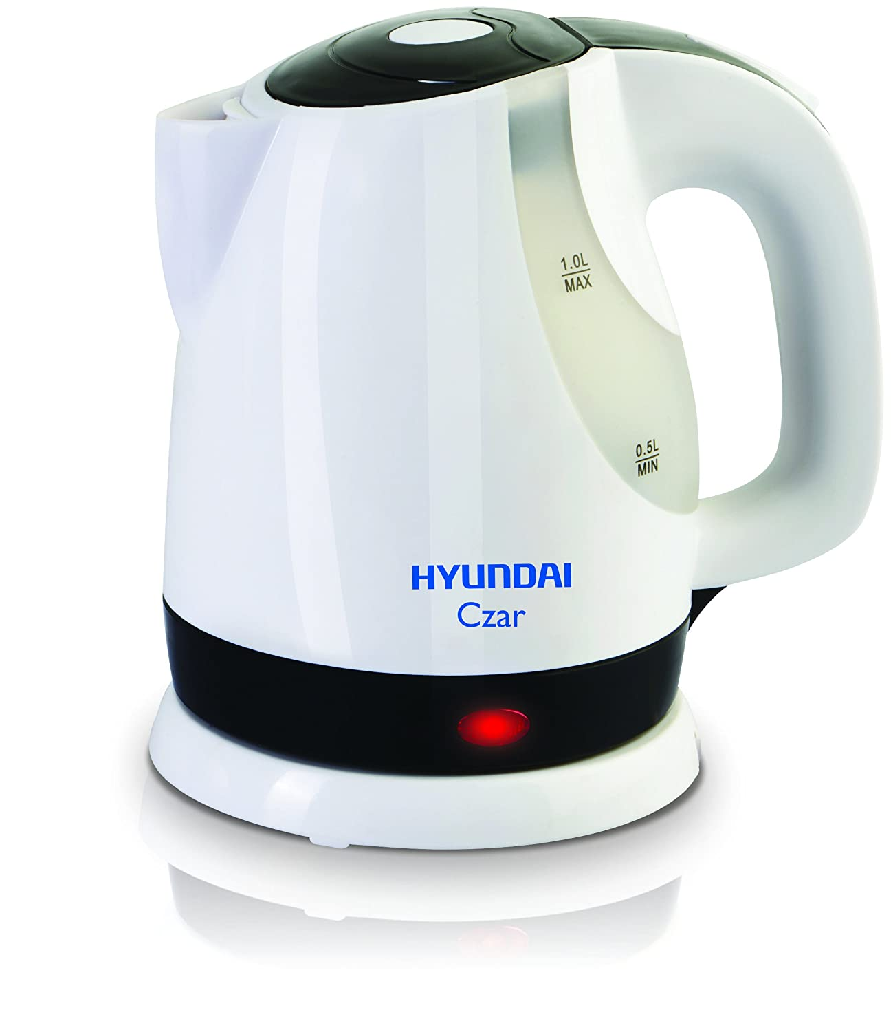 Amazon:Hyundai Czar HKC10C3P-DBH Electric Kettle (White) @ Rs.599/-