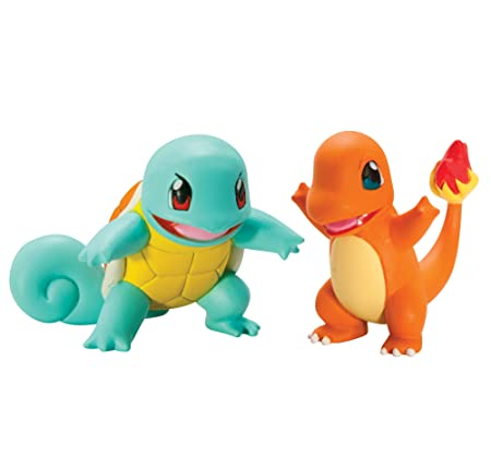 Tomy Pokémon - T18758 - Figurine de Combat Carapuce Vs Salamèche