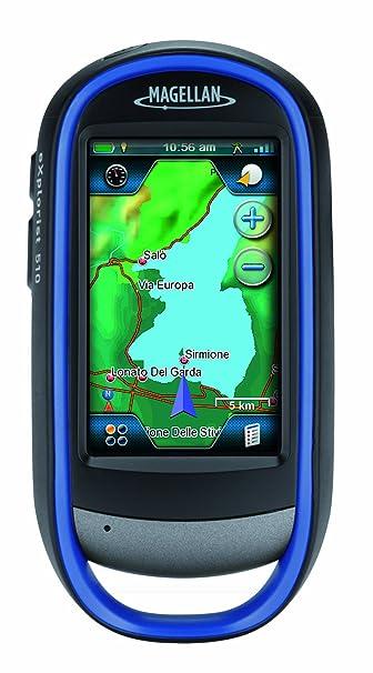 """Magellan eXplorist 510 GPS avec Appareil photo intégré Cartographie WorldMap Ecran Tactile 3"""" Etanche"""