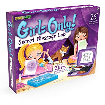 SmartLab Girls Only! Secret Message Lab Science KitX